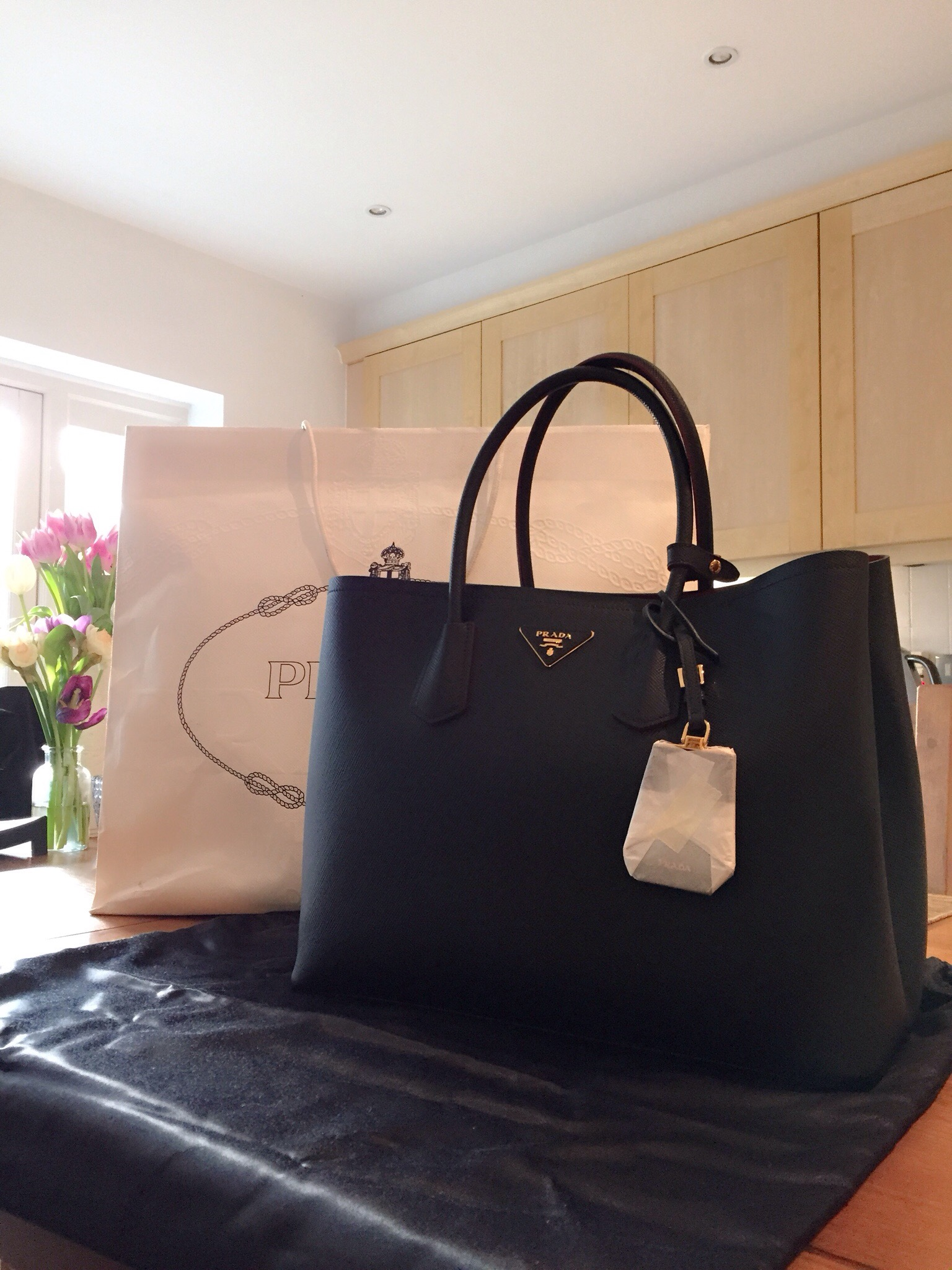 copy prada bags - Prada Double Bag: reveal and mini review - Vikky Anna