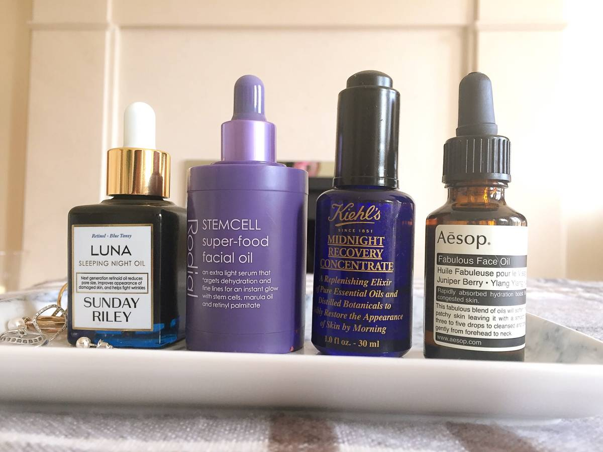 Winter oils for soft and supple skin